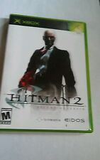 Original xbox hitman 2 silent Assassin video game