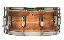 Ludwig LC663 Copper Phonic Raw Patina 14x6.5 Snare Drum Imperial Lugs FREE Ship