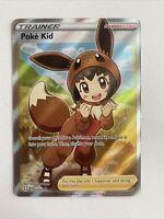 Poke Kid 070/072 Ultra Rare Full Art Pokemon Shining Fates Trainer Nm-Mint