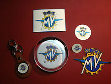 MV Agusta Motorcycles Gift  Set: Paperweight/Key Ring/Badge/magnet/sticker/patch