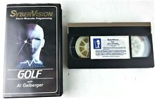 SyberVision Golf Vhs Neuro Muscular Programming Al Geiberger 1983 Perfect Form