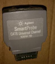 Hp Agilent N2604a 100 Smartprobe Cat6 Channel For Wirescope 350