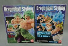 Dragon Ball STYLING Super Saiyan God Gogeta & Saiyan Broly Full Power Bandai JP*