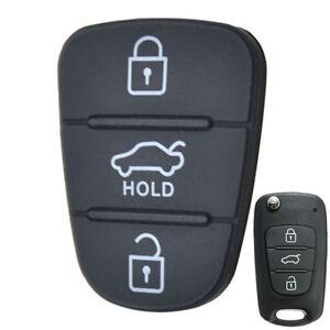 Shell Key Fob Chain Cover Case For Kia Soul Picanto Rio Sorento 3 Buttons