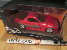 JADA DOM'S Red MAZDA RX7 DIE-CAST Car FAST&FURIOUS Scale 1/32 NEW! (STOCK#5)
