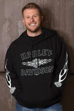 Harley-Davidson Men's Ghost Flame Hoodie - 40290145