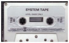 NASTRO di sistema livello I di base solo per Tandy TRS-80 di Tandy Corporation
