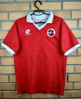 Switzerland soccer jersey XS 1994 1996 home shirt football Lotto