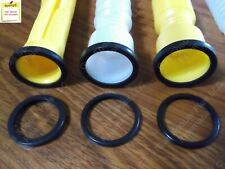 3 Pk New Gas Spout Gasket Replacements Fix Your Leaking Can Wedco Eagle Scepter