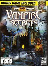 Hidden Mysteries VAMPIRE SECRETS + CIVIL WAR ~ 2 PACK PC & Mac Game NEW