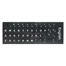 English QWERTY Replacement Keyboard Sticker with Big Letters Z7S2