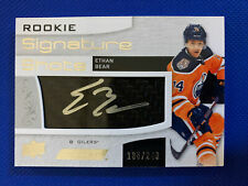 2018-19 Ethan Bear RC Engrained Rookie Signature Shots /249 - Edmonton Oilers
