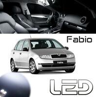 Skoda FABIA - Ampoules LED Blanc éclairage intérieur Plafonnier habitacle Coffre