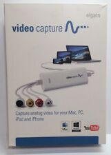 Elgato Video Capture Analog Video Capture For Mac, PC, Ipad, Iphone.Used Once A1