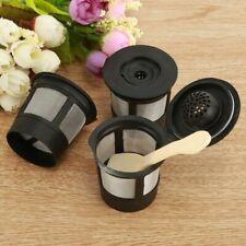 Dosette de filtre à café k-cup rechargeable réutilisable de 3 pièces pour les ca