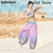Women Belly Dance Oriental Costumes 2pcs Belly Dance Costume National Wind Suit