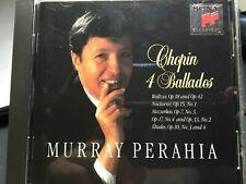 (CD) CHOPIN  4 Ballades  MURRAY PERAHIA
