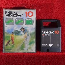 Videopac 10 - GOLF - Philips Videopac G7000 ~ Boxed ~ Vintage Game 1980