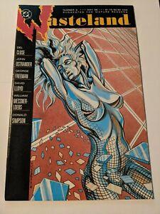Wasteland The Real #6 May 1988 DC Comics