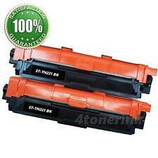 2PK TN-221 TN221 TN-221BK TN 221 Black Toner Cartridge for Brother MFC-9130CW
