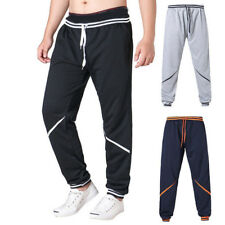 Mens Harem Casual Pants Long Trousers Sport Running Pants Drawstring Plus Size