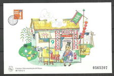Macao-fortuna numeri post fresco 1997 blocco 42 MER. 898