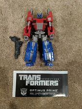 Transformers Fall of Cybertron Deluxe OPTIMUS PRIME 100% COMPLETE + Instructions