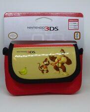 Nintendo Donkey Kong Game Traveller Case For 3DS RED BRAND NEW CR076 DD-03