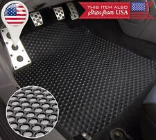 3 PC Black All Weather Heavy Floor Mat For 09-14 F150 Crew Cab w/o Sub Woofer