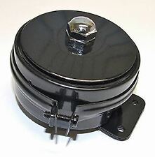 Lucas Type HF1441 6 Volt Horn, with black band. Ideal For Vintage Motorcycles