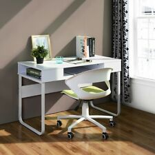 Home Office Laptop Writing Desk Table With Open Drawers Storage 110*55*75CM Size