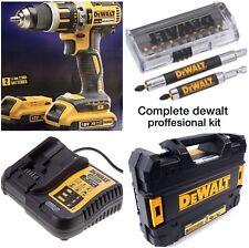 DEWALT 18v brushless combi drill complete kit dcd795D2