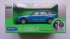 WELLY ALFA ROMEO 159 SPORTWAGON POLICE 1:43 DIE CAST METAL MODEL NEW POLIZIA