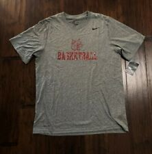 Nike Men's Dri-Fit Basketball Shirt Sz. Large New 384407-091 Gray