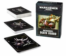 Death Guard data carte (tedesco) Games Workshop data Cards WARHAMMER 8th 40.000