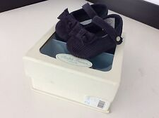 RALPH LAUREN NAVY BLUE CORD SHOES BOXED GIRLS. UK INFANT 1.5 Baby Jayde Bow