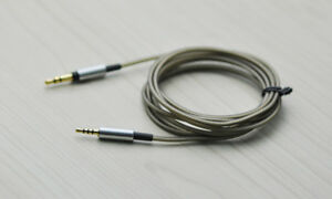 Silver plated Audio Cable For Philips PH805 PH802 TAH9505 COWIN E8 headphones
