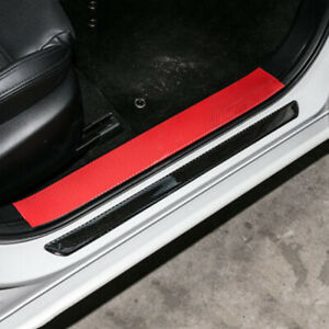 2pcs Pedal Sill Car Door Scuff Plate Cover Panel Step Protection Cover Accessori