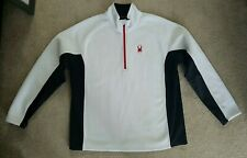 Spyder Mens Sweater XXL 2XL White, Black and Red