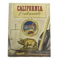 Vintage 1948 California Centennial Celebration Program Magazine Souvenir Booklet