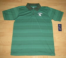 Michigan State Spartans MSU Golf Polo Shirt Men's Size Medium - Embroidered Logo