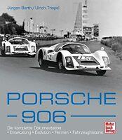 PORSCHE 906 Sportwagen Geschichte Modelle Typen Baureihen Bilder Buch Book