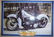 HARLEY-DAVIDSON KNUCKLEHEAD VINTAGE CLASSIC MOTORCYCLE BIKE 1940'S PICTURE 1946
