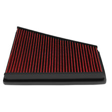 Fit 06-15 Ford Galaxy II/Volvo V70 III Red Washable High Flow Air Filter Panel