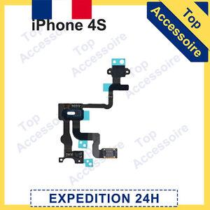 IPHONE 4S NAPPE SONDE CAPTEUR DE PROXIMITÉ + BOUTON POWER ON/OFF