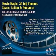 MOVIE MAGIC: 20 BIG THEMES: SPACE, ACTION & ROMANCE (CD)
