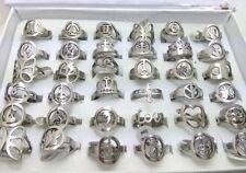 Bulk lot 100x men women lovely stainless steel ring Love Butterfly Crown Rings