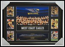 West Coast Eagles 2016 Official AFL Team Photo Super Frame Josh Kennedy Naitanui