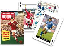 Football Legends Lot de 52 cartes à jouer ( Gib )