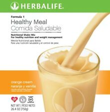 NEW 1X HERBALIFE FORMULA 1 HEALTHY MEAL SHAKE MIX 750g (orange and Cream)07/2020